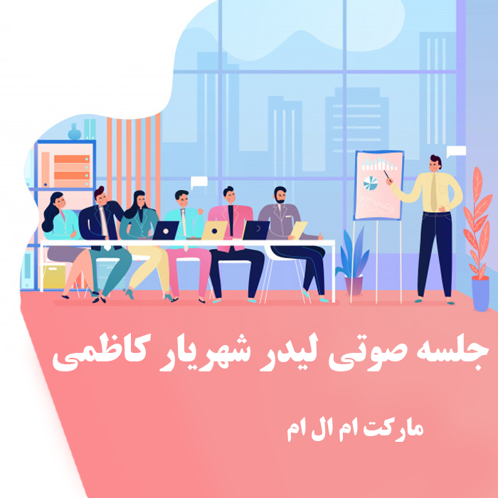 جلسه صوتی لیدر شهریار کاظمی