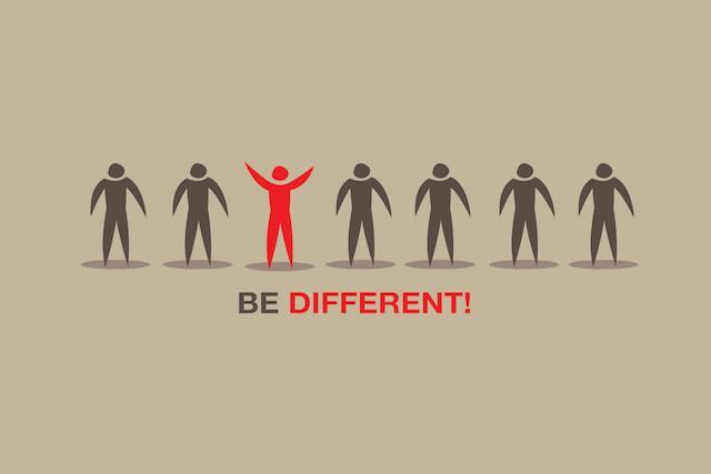 متفاوت باشید