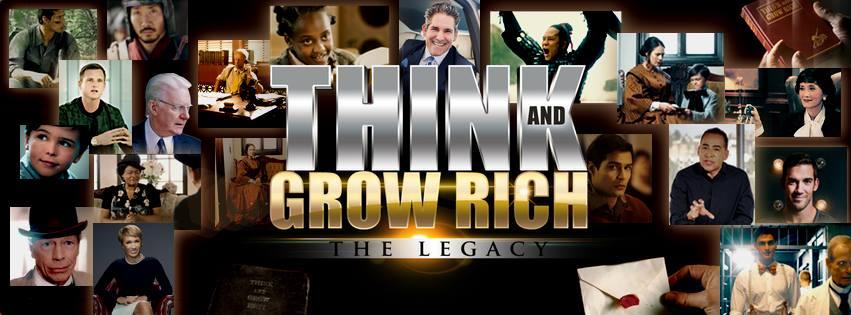 جلد سی دی مستند بیندیشید و ثروتمند شوید