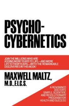 جلد اصلی کتاب سایکو سایبرنتیک