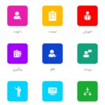 اپلیکیشن برای مدیریت تیم   اپلیکیشن بازاریابی شبکه ای my leader