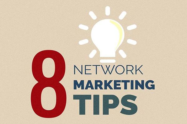 جزوه 8 گام موفقیت در بازاریابی شبکه ای